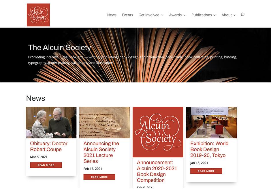 Britt_Alcuin Society Website