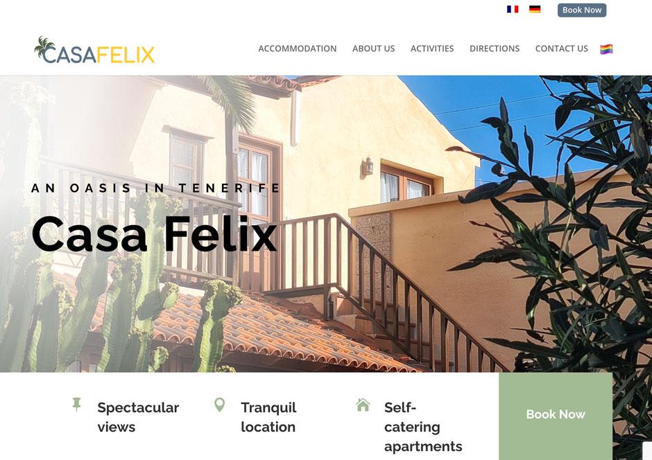 Britt_Multi Lingual Guesthouse Website